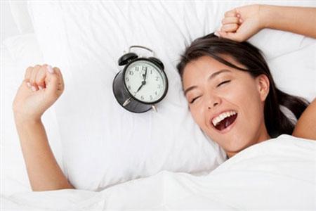 Ngủ đủ sẽ làm tinh thần bạn thêm sảng khoái